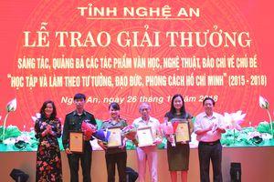 Nhiều tác phẩm chất lượng về chủ đề 'Học tập và làm theo tư tưởng, đạo đức, phong cách Hồ Chí Minh'