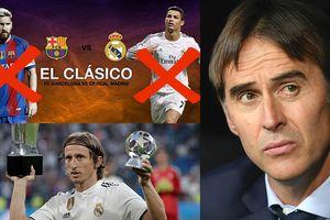 Siêu kinh điển: Khi Real Madrid không CR7 và Barcelona vắng Messi