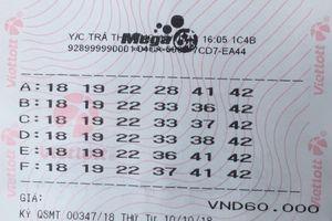 Quảng Ninh: Một khách hàng trúng Vietlott hơn 66 tỷ đồng