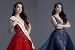 Huỳnh Vy tung trang phục dạ hội đẹp không rời mắt trước thềm chung kết