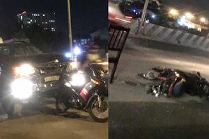 Xe ô tô 'hạ gục' hàng loạt xe máy, 5 người bị thương nặng