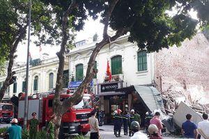 Quận Hoàn Kiếm thông tin chính thức về sự cố sập nhà số 32 phố Lê Thái Tổ
