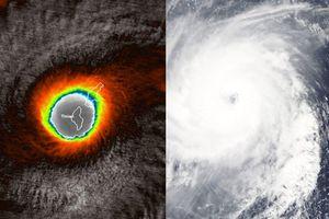 Hình ảnh dữ đội từ vệ sinh của siêu bão 'quái vật' mạnh nhất năm 2018 đang tiến về Đông Nam Á