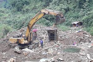 Mường Tè – Lai Châu: Vì sao Công ty Hùng Dũng ngang nhiên khai thác vàng trái phép?