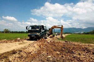 Phù Cát (Bình Định): Doanh nghiệp ngang nhiên 'xẻo' đất ruộng, 'khoét' núi trái phép