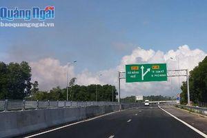 Thu phí trở lại đoạn Km0+000 – Km65+000 tuyến cao tốc Đà Nẵng – Quảng Ngãi sau thời gian tạm dừng sửa chữa