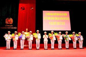 Công an thành phố Hà Nội giảm 38 đầu mối cấp phòng