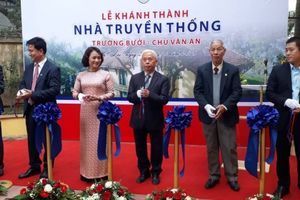 Phát động Tuần lễ văn hóa kỉ niệm 110 năm truyền thống trường Bưởi – Chu Văn An