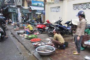 Ô nhiễm từ các khu chợ dân sinh