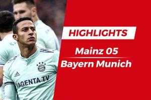 Highlights cựu sao Barca ghi bàn, Bayern thắng sát nút Mainz