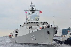 Uy lực các tàu chiến ở cuộc tập trận chung Trung Quốc - ASEAN