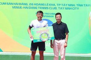 Tay vợt Hoàng Nam tuột mất chức vô địch trên sân nhà
