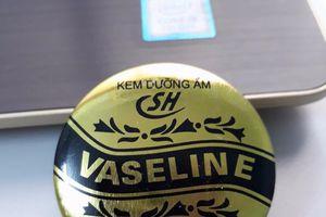 Thu hồi khẩn lô sản phẩm kem dưỡng ẩm Vaseline SH do không đạt chất lượng