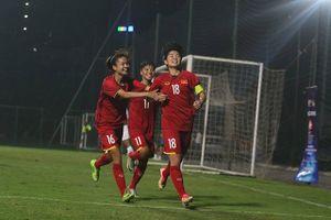 Vòng loại U19 nữ châu Á: Việt Nam vào vòng 2 với ngôi nhất bảng
