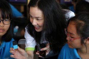 TP.HCM: Học sinh sáng tạo ngoài tưởng tượng với công nghệ cảm biến MESH