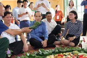 Clip: Có món ếch, nhái, dế mèn trong mâm lễ mừng cơm mới của người Lào ở Sơn La