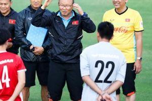 HLV Park Hang-seo thử nghiệm bài tập rất dị trước thềm AFF Cup 2018