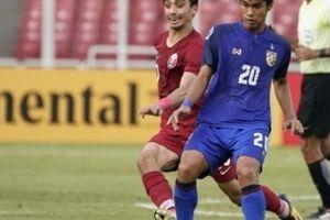 Thua 4 bàn trong 30 phút, U19 Thái Lan tan mộng World Cup