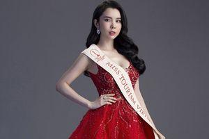 Huỳnh Vy khoe váy dạ hội thi chung kết HH Du lịch Thế giới