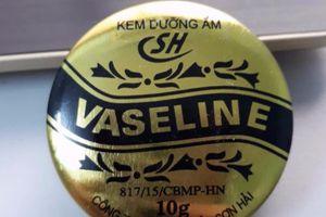 Thu hồi lô kem dưỡng ẩm Vaseline SH