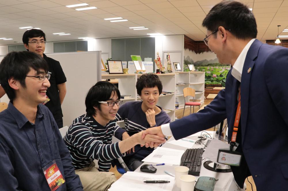 FPT tổ chức thi lập trình trí tuệ nhân tạo tại Nhật Bản