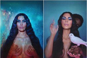 Kim Kardashian bị chỉ trích lợi dụng con gái để quảng cáo mỹ phẩm
