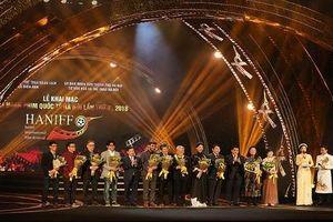 Nhiều nghệ sĩ nổi tiếng tham gia Liên hoan phim Quốc tế Hà Nội 2018