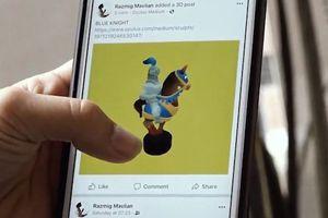 Làm thế nào để đăng ảnh 3D trên Facebook?