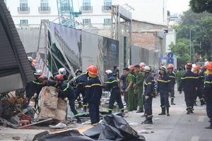 Thông tin mới nhất vụ sập căn nhà 2 tầng cạnh hồ Hoàn Kiếm
