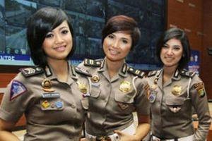 Tiêu chuẩn lạ trong lựa chọn nữ cảnh sát ở Indonesia