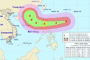 Siêu bão Yutu gần Biển Đông có sức gió mạnh nhất 200km/giờ, giật trên cấp 17