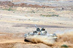 Quân đội Syria tiếp tục tấn công vào Al-Safa, giải phóng 500m2 từ IS