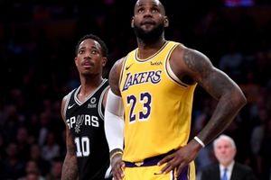 Lakers lần thứ 2 'nhận trái đắng' trước Spurs chỉ trong chưa đầy 1 tuần