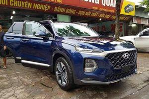 Chùm ảnh: Soi Hyundai SantaFe 2019 'lộ diện' giữa phố ở Hà Nội