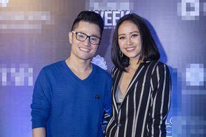 MC Phí Linh mặc menswear đọ 'nam tính' với NTK Nhật Dũng