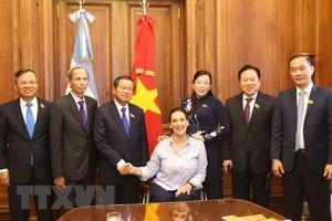 Việt Nam và Argentina tăng cường quan hệ đối tác toàn diện