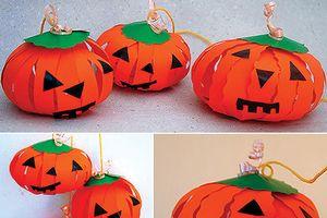 Tự làm đồ trang trí dịp Halloween