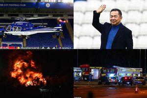 NÓNG: Máy bay của Chủ tịch Leicester City gặp nạn, bốc cháy dữ dội