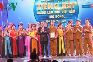 Chung kết liên hoan toàn quốc Tiếng hát người làm báo lần thứ 6