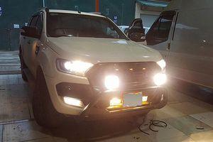 Từ chối đăng kiểm những ô tô 'độ' đèn chiếu sáng