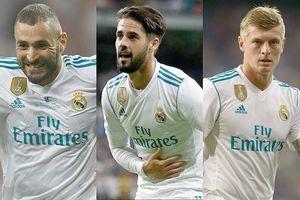 Đội hình mạnh nhất của Real ở trận 'Siêu kinh điển' với Barca