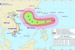 Siêu bão Yutu giật trên cấp 17 đang gần biển Đông