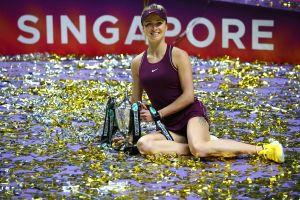 Vô địch WTA Finals, Svitolina giành danh hiệu lớn nhất sự nghiệp