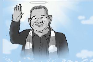 Chủ tịch Vichai - khi ánh sáng vinh quang của Leicester vụt tắt