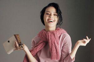 Học Khánh Linh The Face cách phối đồ quyến rũ ngày đông