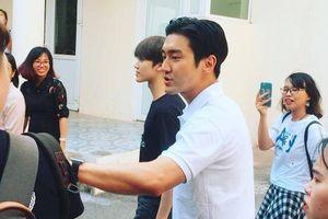 Mỹ nam Choi Siwon tới Hà Nội