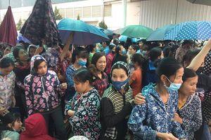 Thanh Hóa: Gần 3.000 công nhân đã đi làm lại sau 10 ngày ngừng việc tập thể