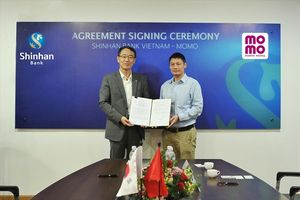 Ngân hàng Shinhan triển khai dịch vụ 'Giới thiệu khoản vay tiêu dùng trên Ví Momo'