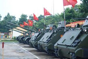 Việt Nam trang bị súng Mỹ cho thiết giáp M113?