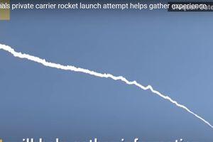Khoảnh khắc tên lửa đẩy Trung Quốc thất bại giữa không trung